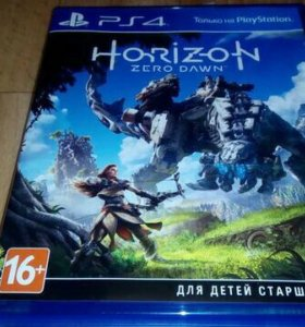 Horizon Zero Dawn игра пс4