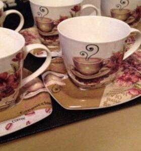 Набор кофейный чайный