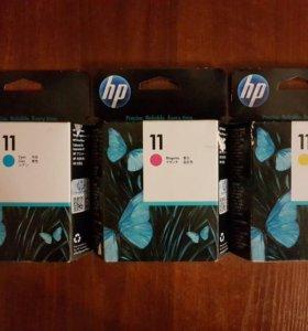 Печатающие головки HP 11 C4811A, C4812A, C4813A