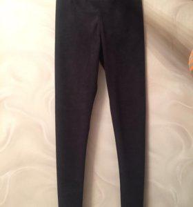 Замшевые стрейчевые штаны