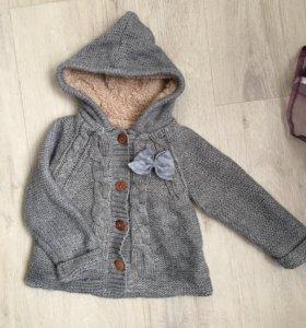 Zara кофта тёплая