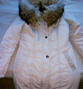 Пуховик куртка без меха.