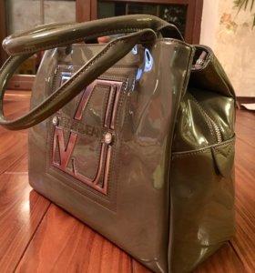 Versace jeans сумка НОВАЯ лаковая