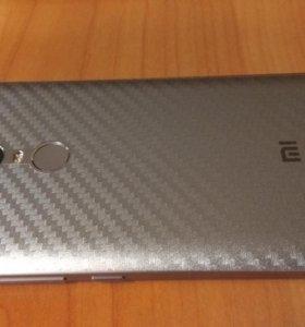 Для Xiaomi Redmi Note 4X пленка на заднюю панель
