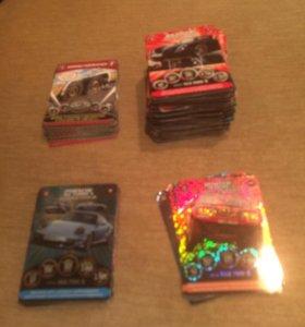 Коллекция карточек «Супергонки»
