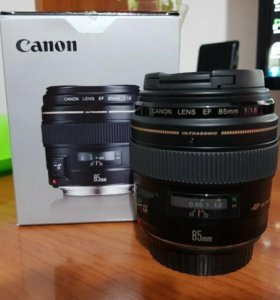 Canon lens EF 85mm 1:8