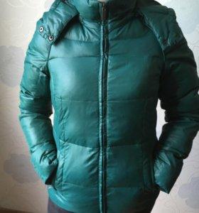 Куртка Incity женская зеленая зима-осень