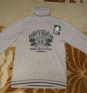 Новый свитер на мальчика