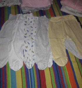 Детская одежда пакетом. Р-р 54-62 от 0 до 3 мес.