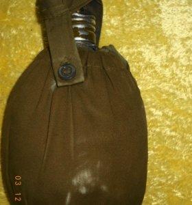 фляжки 2 шт,сумка-армейские