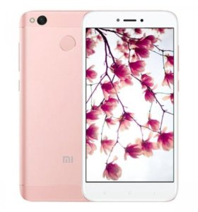 Xiaomi redmi 4X rose Новый