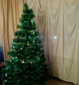Пушистые елки 1,8 и 2,1 метра