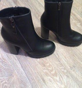 Сапоги ботинки зимние новые