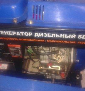 """Генератор дизельный. """"СПЕЦ"""" SD-5000"""