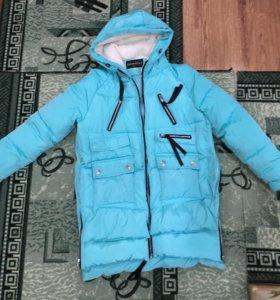 Куртка зимняя, можно для беременных