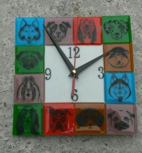 Часы для любителей собак всех пород