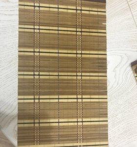 Бамбуковые коврики(салфетки)
