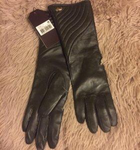 Новые удлиненные женские перчатки Labbra р-р 7,5