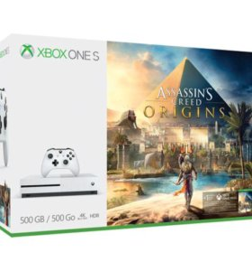 Xbox One S + Assassin's Creed: Origins (500Gb) new
