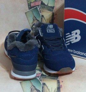 кроссовки NB зимние