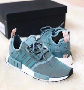 Кроссовки Adidas NMD Blue White 36-40