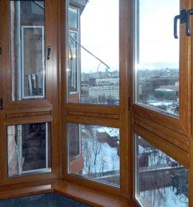 Окна, двери пвх, балконы алюминий