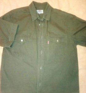 Рубашка мужская деним