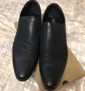 Мужские туфли новые, 45 размер