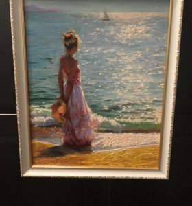 Картина. Холст. Масло. Море.