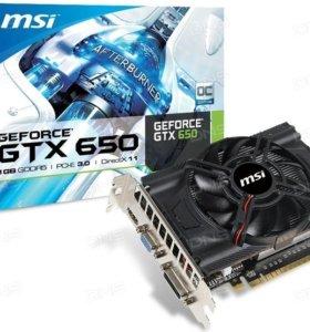 Видеокарта MSI GeForce GTX 650