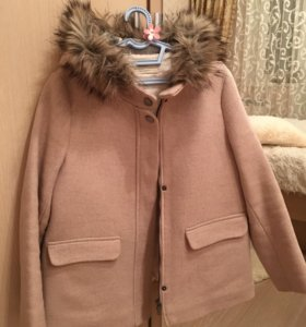 Пальто утеплённое на девочку,152 рост