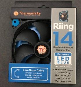 Кулер Thermaltake RIING 14 blue