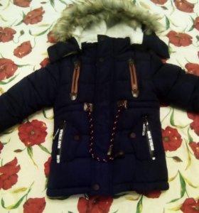 куртка детская 1-2года новая