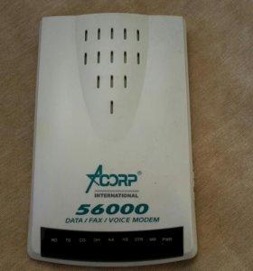 Модем Acorp 56 EMSF-2