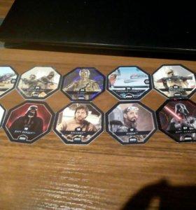 Звёздные войны ( 10 карточек )