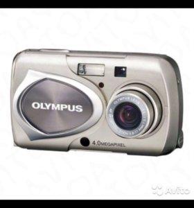 Цифровой фотоаппарат Olympus Mju 410 - 4 Мпикс