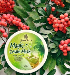 """Крем-маска для лица с зеленой глиной """"Magic Cream"""""""