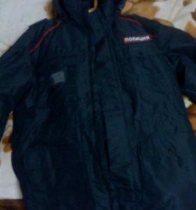 Куртка демисезонная, полицейская,