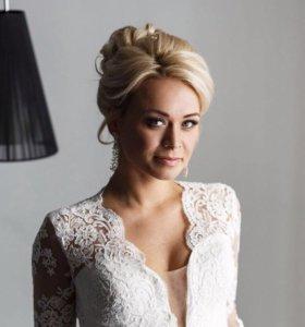 Свадебный стилист-визажист (макияж, причёски)