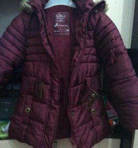 Куртки на девочку рост98