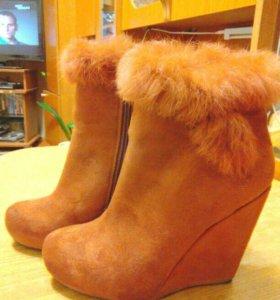 Зимние ботинки 38-39р