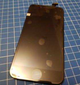 Дисплей iphone 6 черный