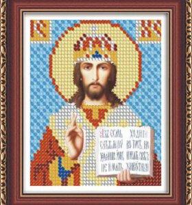 """Алмазная мозаика """"Икона Иисус"""""""