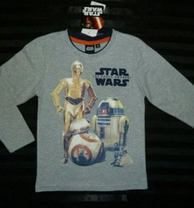 Футболки новые для мальчика Star Wars