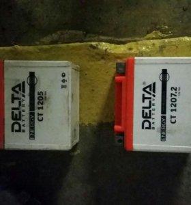 Аккумуляторы для скутеров или мопедов .