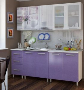 Кухня Акварель 2.0 м новая