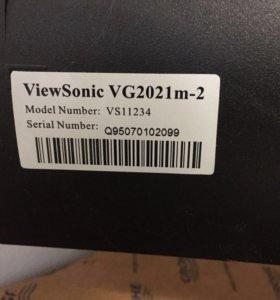 Монитор view sonic vg20121 m