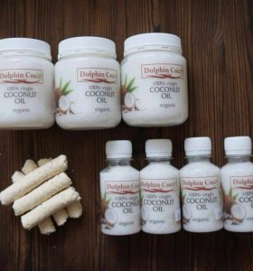 100% кокосовое масло