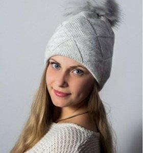 Женская шапка, новая!