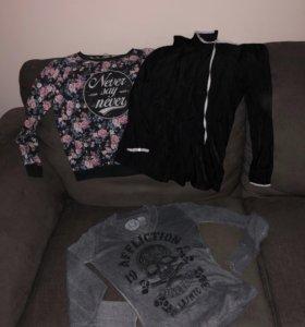 Вещи, свитер, Платье, джинсы!